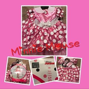 Disney Minnie Mouse Costume Size 2T